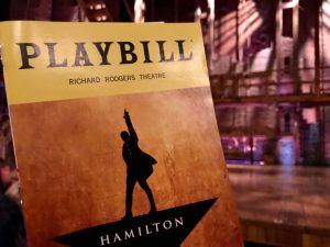Hamilton-Playbill-Stage