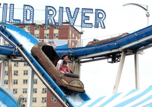 Wild River Roller Coaster